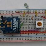 XBee-Roomba Breadboard prototype