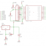 XBee-Roomba Circuit schematic