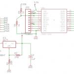 XBee-Roomba Circuit schematic